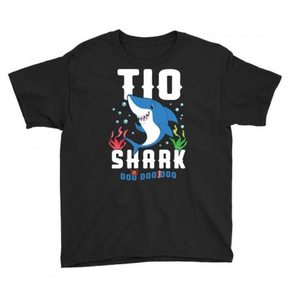 Tio Shark Family Matching Youth Tee Designed By Artees Artwork