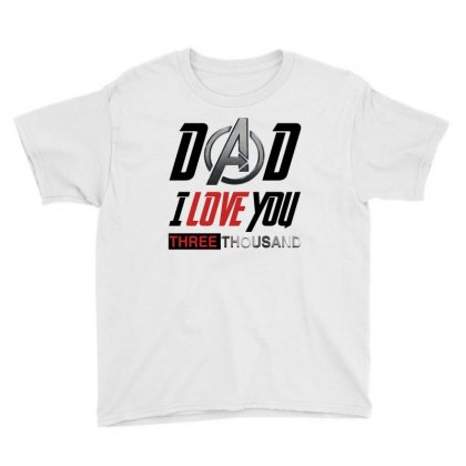 Dad I Love You For Light Youth Tee Designed By Sengul