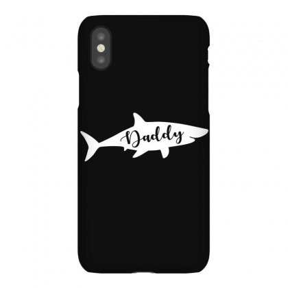 Daddy Shark Iphonex Case Designed By Artees Artwork