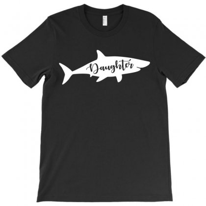 Daughter Shark T-shirt Designed By Artees Artwork