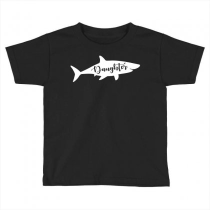 Daughter Shark Toddler T-shirt Designed By Artees Artwork