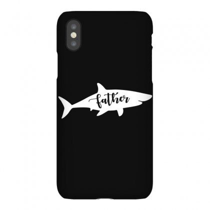 Father Shark Iphonex Case Designed By Artees Artwork