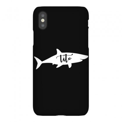 Tito Shark Iphonex Case Designed By Artees Artwork