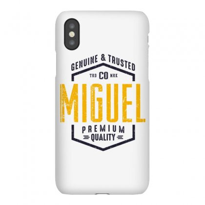 Is Your Name, Miguel. This Shirt Is For You! Iphonex Case Designed By Chris Ceconello