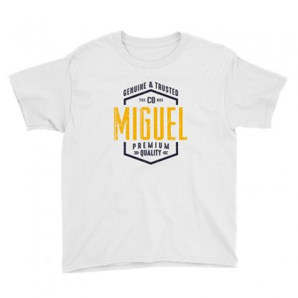 Is Your Name, Miguel. This Shirt Is For You! Youth Tee Designed By Chris Ceconello