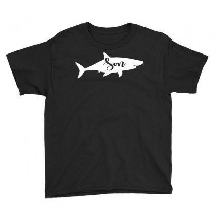 Son Shark Youth Tee Designed By Artees Artwork