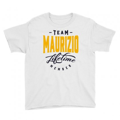 Is Your Name, Maurizio. This Shirt Is For You! Youth Tee Designed By Chris Ceconello
