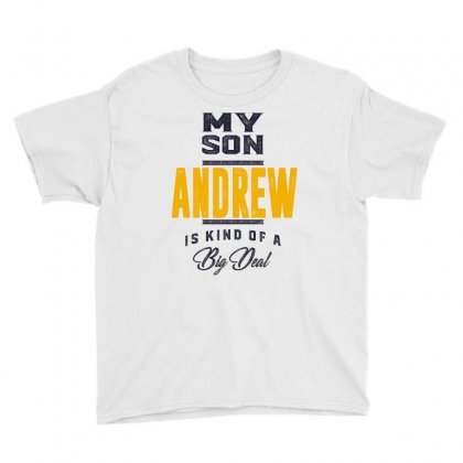 Is Your Name, Andrew. This Shirt Is For You! Youth Tee Designed By Chris Ceconello