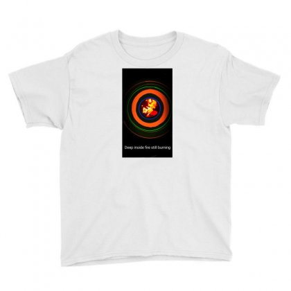 Fire Inside Youth Tee Designed By Sahil Sabharwal