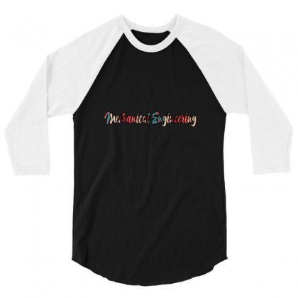 Mechanical Engineering 3/4 Sleeve Shirt Designed By Inspirasimeja