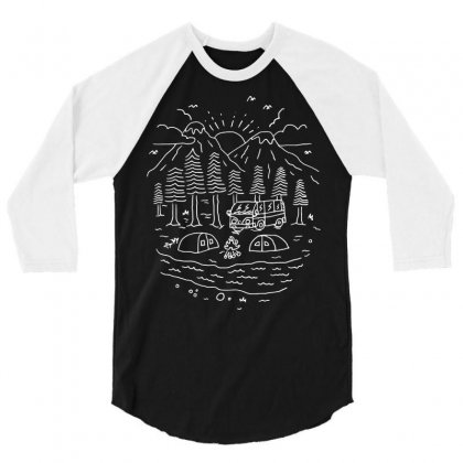 Greatest Trips (for Dark) 3/4 Sleeve Shirt Designed By Quilimo