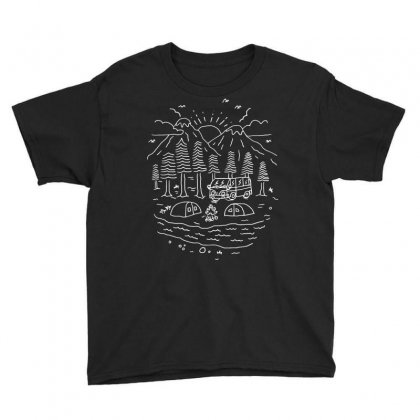Greatest Trips (for Dark) Youth Tee Designed By Quilimo