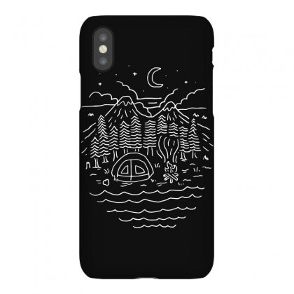The Great Outdoors (for Dark) Iphonex Case Designed By Quilimo