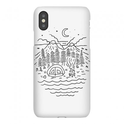 The Great Outdoors (for Light) Iphonex Case Designed By Quilimo