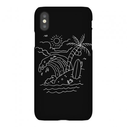 The Waves Are Calling (for Dark) Iphonex Case Designed By Quilimo