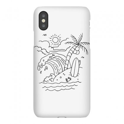The Waves Are Calling (for Light) Iphonex Case Designed By Quilimo