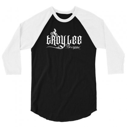 Troy Lee License Plate 3/4 Sleeve Shirt Designed By Tiococacola