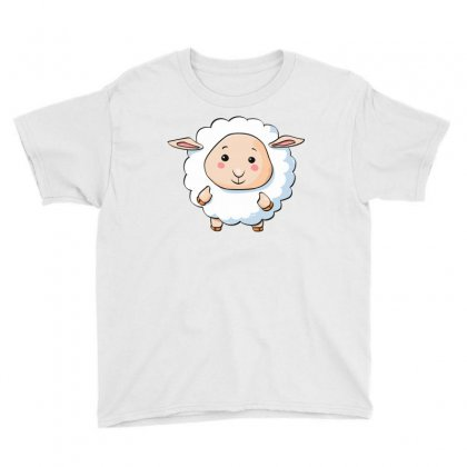 Lamb Cute Young Funny Character Youth Tee Designed By Salmanaz