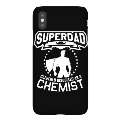 Super Dad Cleverly Disguised As Chemist Iphonex Case Designed By Hung