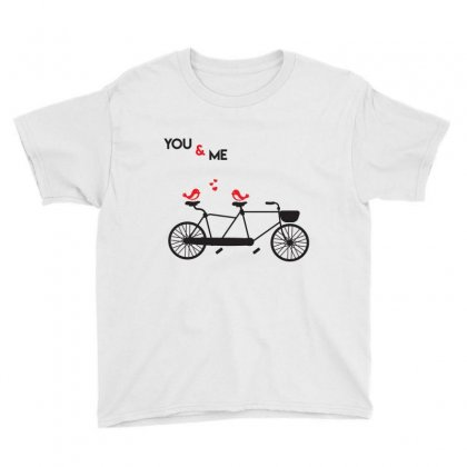 No And Me Byecle T Shirt Youth Tee Designed By Hung