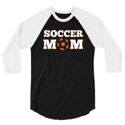 Soccer Mom Shirts 3/4 Sleeve Shirt Designed By Hung