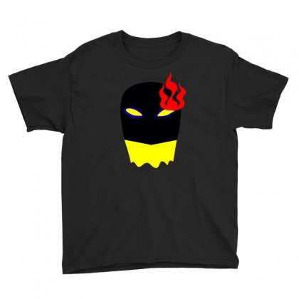 Fire Head Youth Tee Designed By Nishantmehta752
