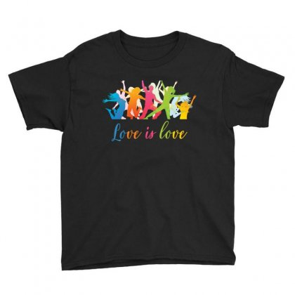 Love Is Love Youth Tee Designed By Anrora
