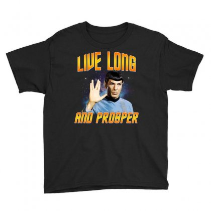 Live Long And Prosper Youth Tee Designed By Sengul