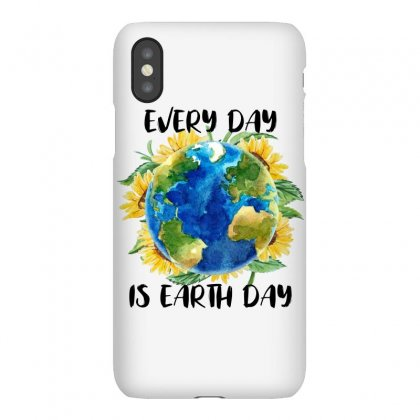 Every Day Is Earth Day For White Iphonex Case Designed By Sengul
