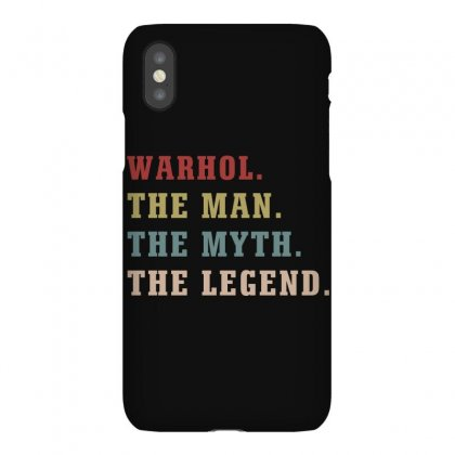 Warhol The Man The Myth The Legends Iphonex Case Designed By Artees Artwork