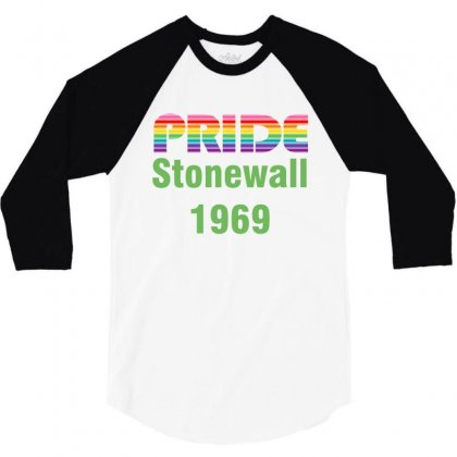 Stonewall 1969 3/4 Sleeve Shirt Designed By Vanitty