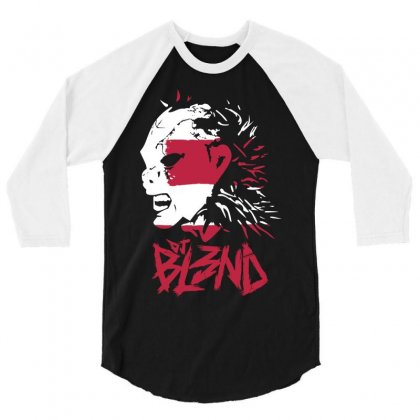 Dj Blend 3/4 Sleeve Shirt Designed By Allstreet