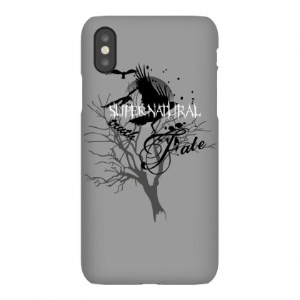 Supernatural Crows Iphonex Case Designed By Allstreet
