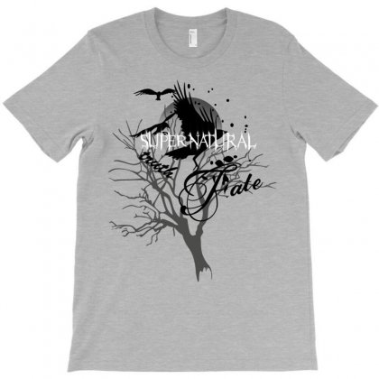 Supernatural Crows T-shirt Designed By Allstreet