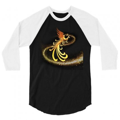 Phoenix 3/4 Sleeve Shirt Designed By Salmanaz