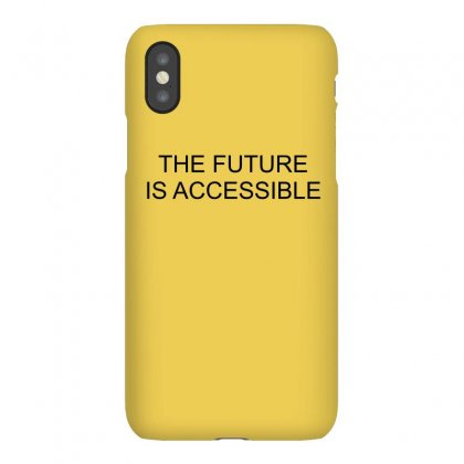 Future Is Accessible (black) Iphonex Case Designed By Banjarstore