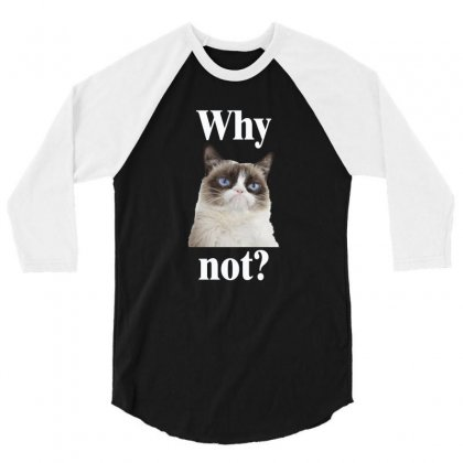 Why Not 3/4 Sleeve Shirt Designed By Vanitty
