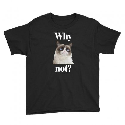 Why Not Youth Tee Designed By Vanitty