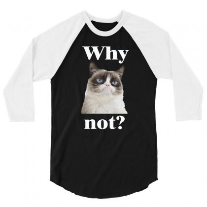 Why Not1 3/4 Sleeve Shirt Designed By Vanitty