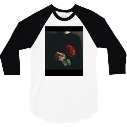 Flower 3/4 Sleeve Shirt Designed By Sas
