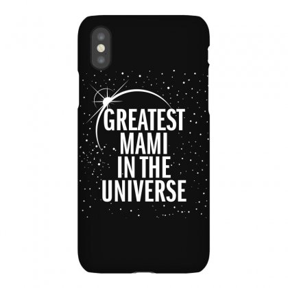 Greatest Mami In The Universe Iphonex Case Designed By Blue