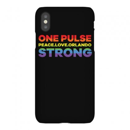 One Pulse Peace.love.orlando Strong T Shirt Iphonex Case Designed By Hung