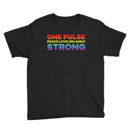 One Pulse Peace.love.orlando Strong T Shirt Youth Tee Designed By Hung