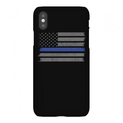 Thin Blue Line T Shirt Iphonex Case Designed By Hung