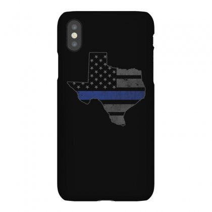 Texas Dallas Blue Line Shirts Iphonex Case Designed By Hung