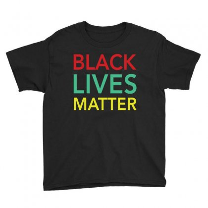 Black Lives Matter T Shirt   Official Civil Rights Tee Shirt Youth Tee Designed By Hung