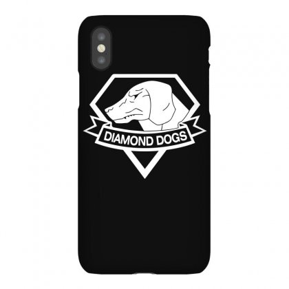 Metal Gear Solid Diamond Dogs T Shirt For Dog Lover Iphonex Case Designed By Hung