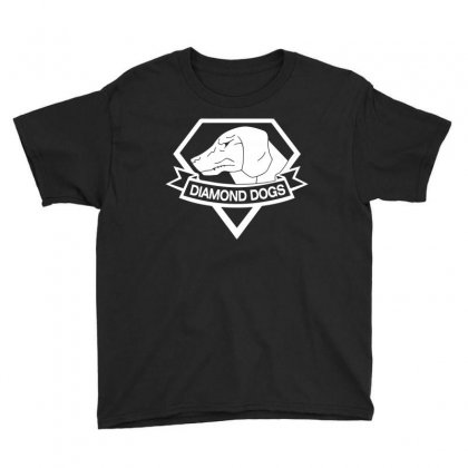 Metal Gear Solid Diamond Dogs T Shirt For Dog Lover Youth Tee Designed By Hung