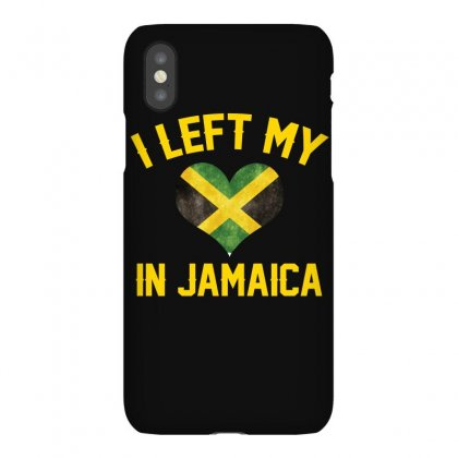 I Left My Heart In Jamaica T Shirt Iphonex Case Designed By Hung
