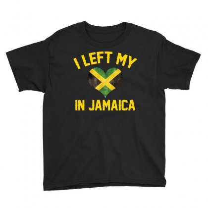 I Left My Heart In Jamaica T Shirt Youth Tee Designed By Hung